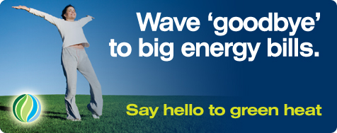 Wave goodbye to big energy bills, Say hello to green heat